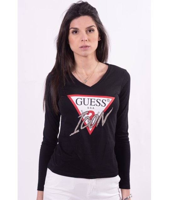 Sweater With Guess Logo