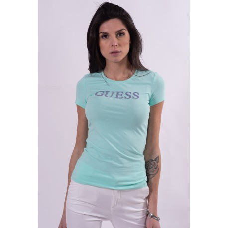 Guess Solid Color T-Shirt