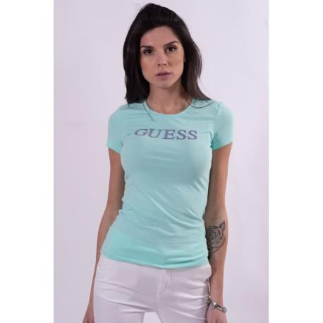 T-Shirt Tinta Unita Guess