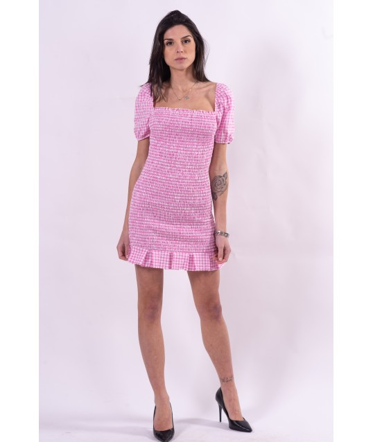 Guess little squares patterned dress