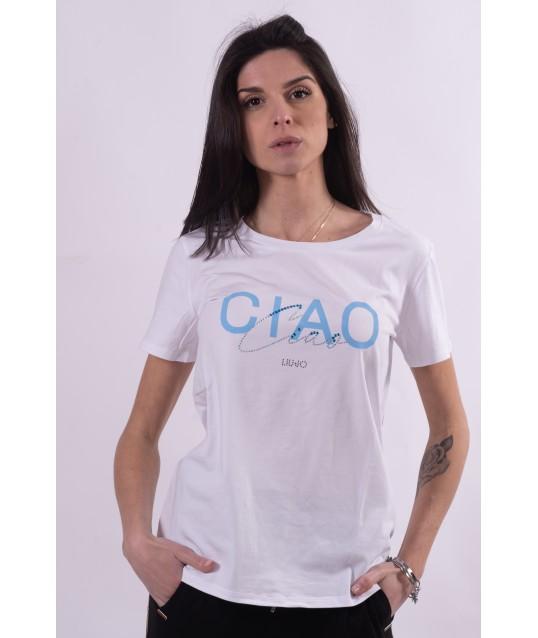 T-Shirt With Liu Jo Print