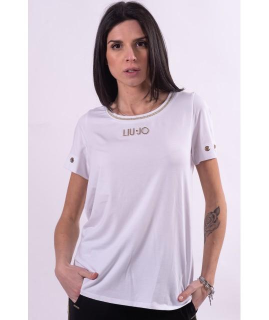 T-Shirt Con Logo Liu Jo
