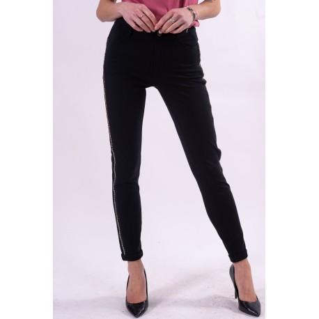 Pantalon avec strass latéraux Liu Jo