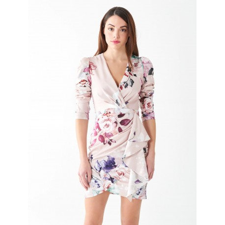 Short Dress Roses Renaissance