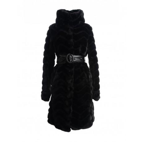 Solid Color Fur Fracomina