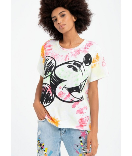 T-shirt Fracomina Multicolore