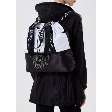 Bag With Fringes And Strass Liu Jo