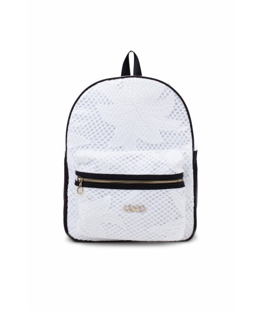 Backpack With Embroidery Liu Jo