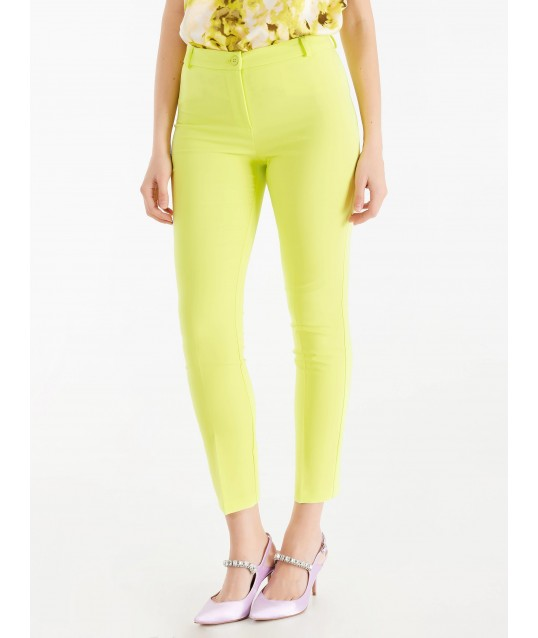 Pantaloni Tinta Unita Rinascimento