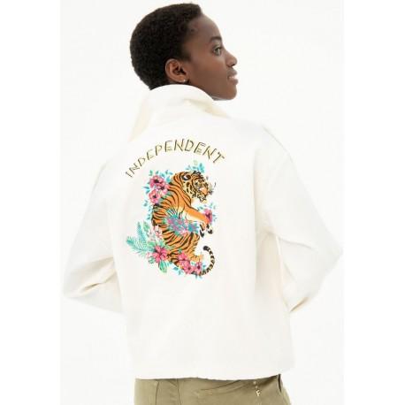 Jacket With Fracomina Print
