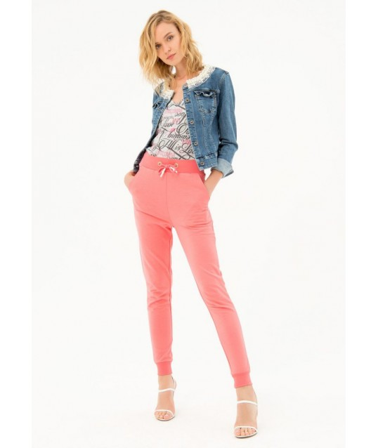 Fracomina Solid Color Suit Trousers