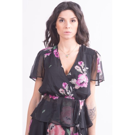 Guess Floral Pattern Blouse