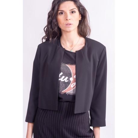 Bolero Jacket In Cady, Sandro Ferrone