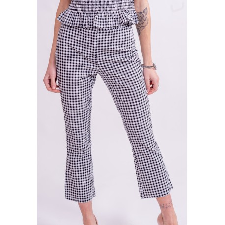 Guess Checkered Trousers
