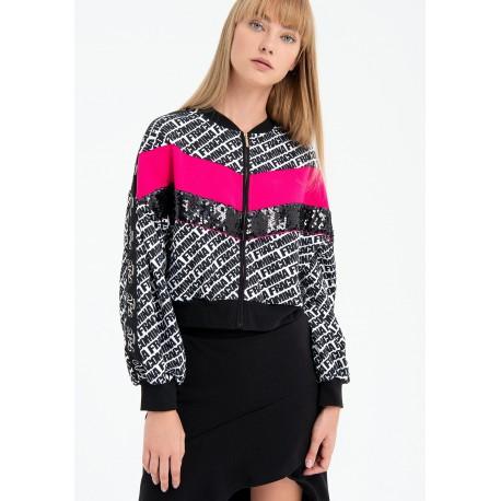 Fracomina Regular Bomber Sweatshirt