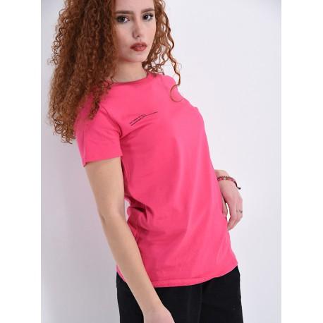 T-shirt Tinta Unita Life Smiles Selection