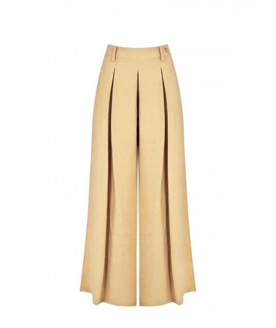 Wide Trousers With Renaissance Pinces