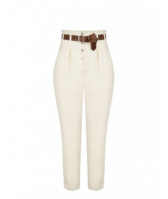 High Waisted Pants In Renaissance Cotton