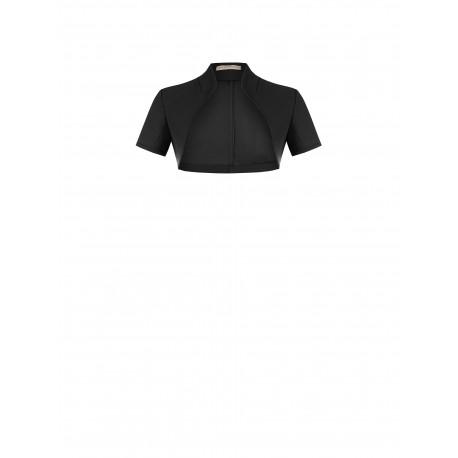 Short Jacket Solid Color Rinascimento