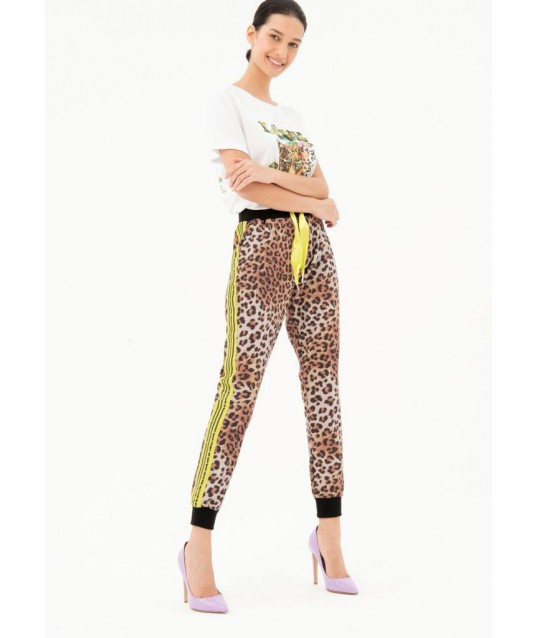Trousers With Spotted Pattern Fracomina