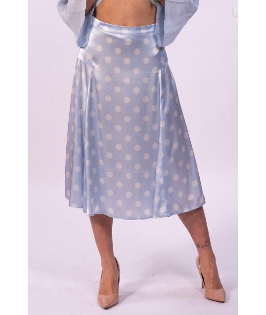 Skirt With Polka Dots Fracomina