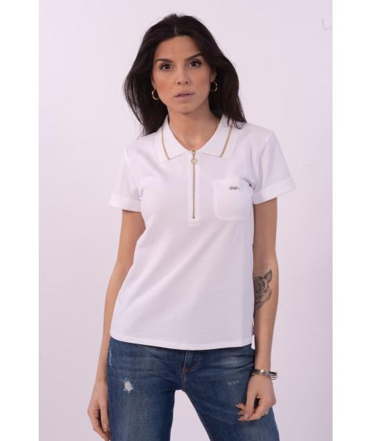 Polo Shirt Solid Color Liu Jo