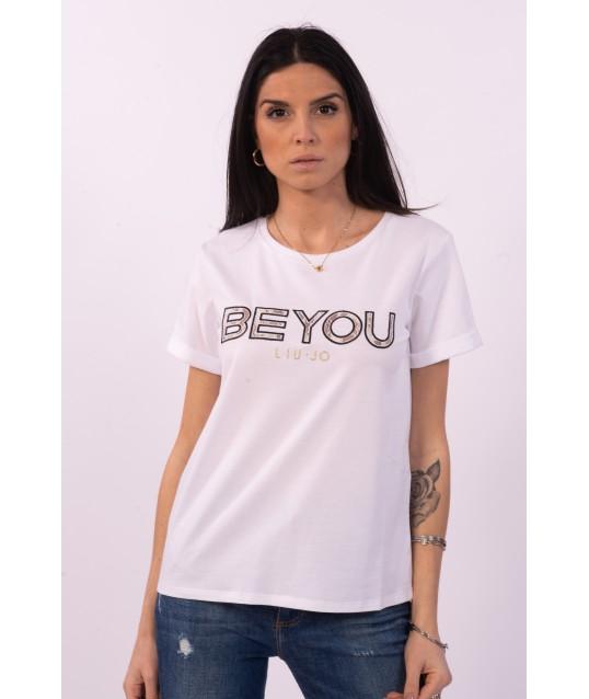 T-Shirt Con Stampa Liu Jo