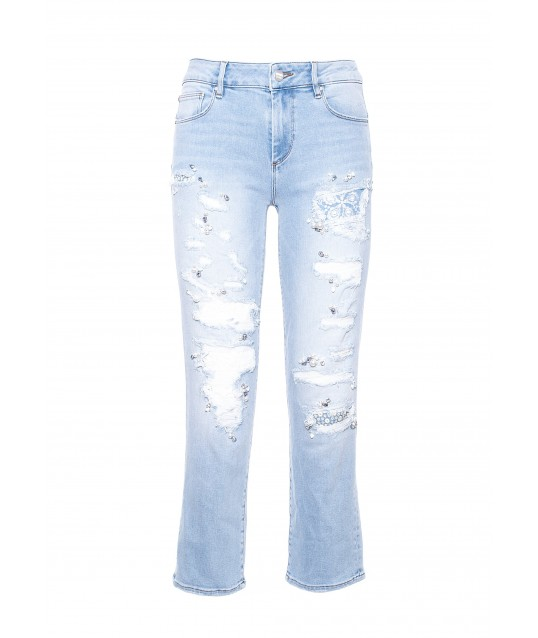 Denim With Fracomina Applications