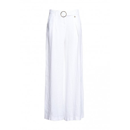 Pantalon De Lin Fracomina