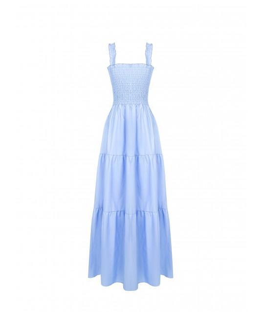 Flounced Renaissance Dress