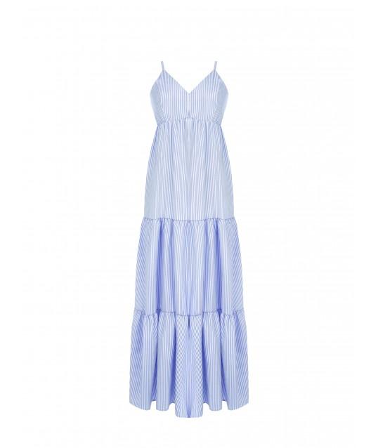 Long Dress With Ruffles Rinascimento