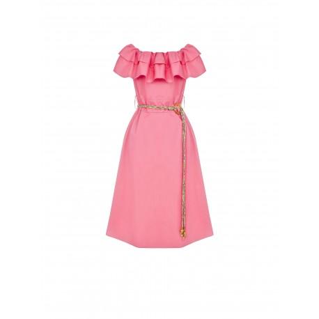 Solid Color Renaissance Dress