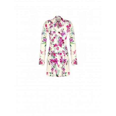 Renaissance Floral Blazer Dress