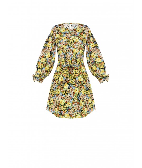 Floral Renaissance Dress