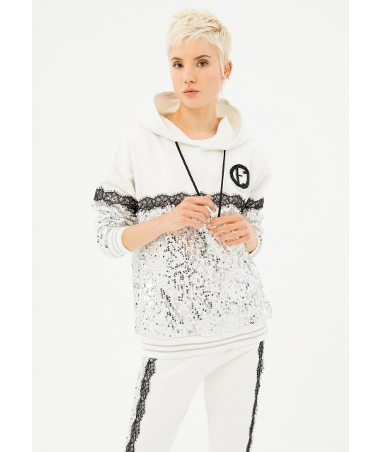 Over Sweatshirt In Cotton Fracomina
