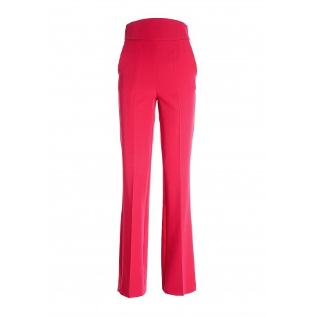 Flare Trousers In Fracomina Technical Fabric