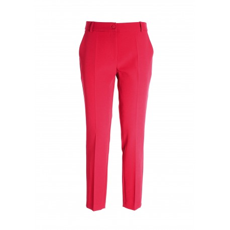 Cigarette Pants In Fracomina Technical Fabric