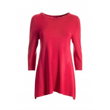 Wide Sweater With 3/4 Sleeves Fracomina