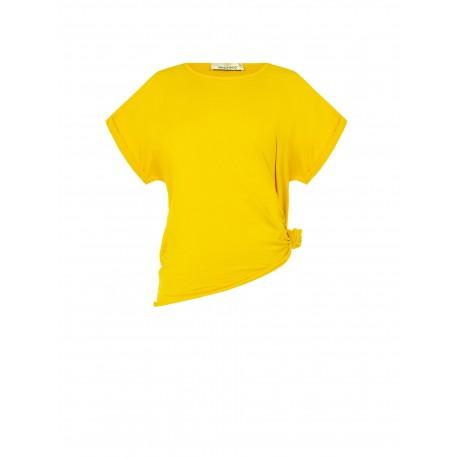 T-shirt Con Nodo Rinascimento