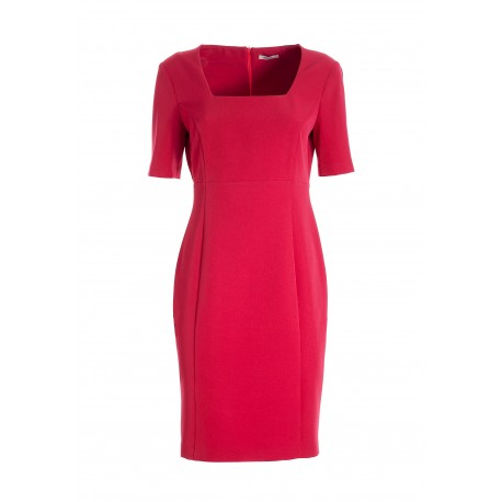 Tight-fitting Mini Dress In Fracomina Stretch Technical Fabric