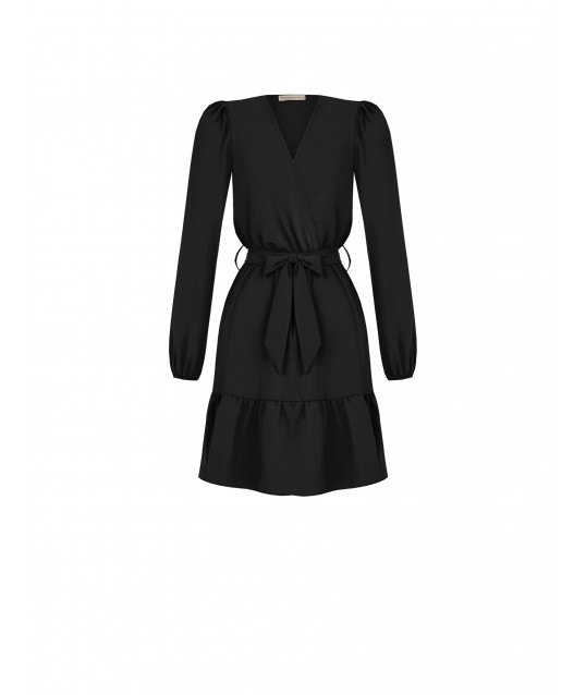 Dress With Flounce Rinascimento