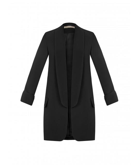 Open jacket in Renaissance technical fabric