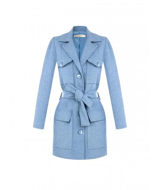Coat With Utility Pockets Rinascimento