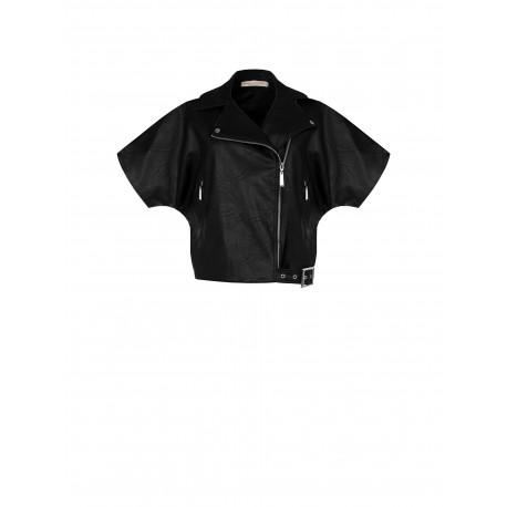 Renaissance Leatherette Biker Jacket