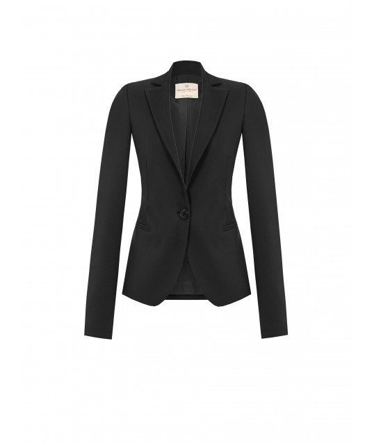 One Button Jacket In Renaissance Technical Fabric