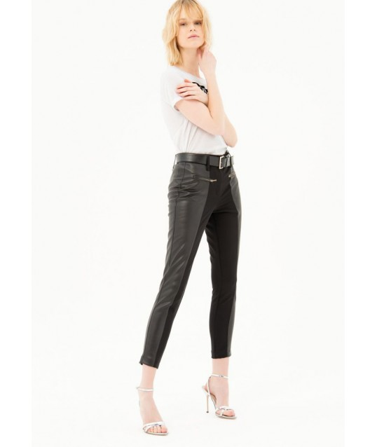 Pantaloni In Eco Pelle Fracomina