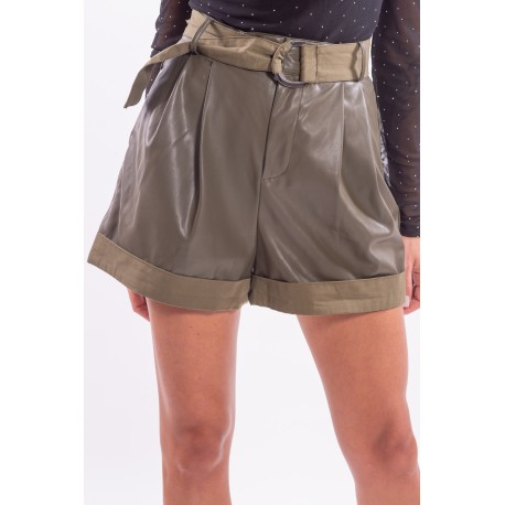 Pantaloncino Corto In Similpelle Guess
