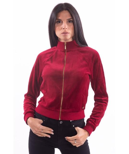 Short Sweatshirt Solid Color Guess