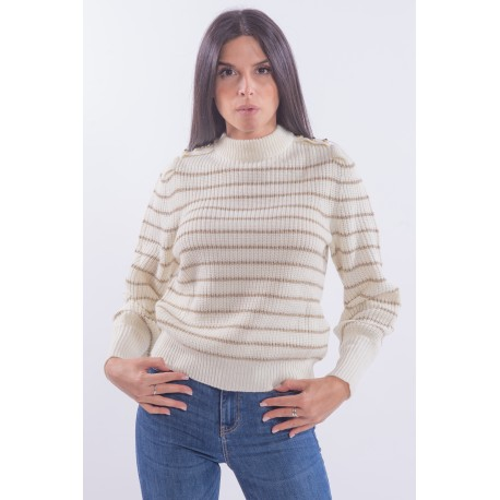 Sweater With Guess Stripes