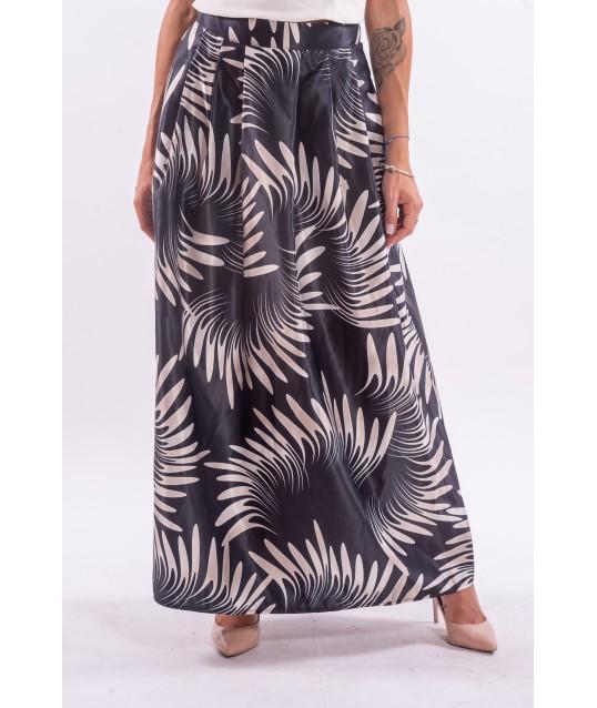 Circle Skirt in Renaissance Duchesse